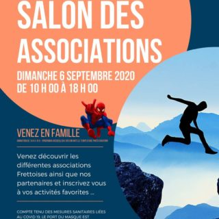 Affiche Salon des associations 2020